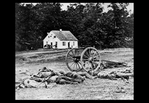 Battle of Antietam in Maryland, Civil War 1862