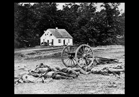Battle of Antietam in Maryland, Civil War 1862